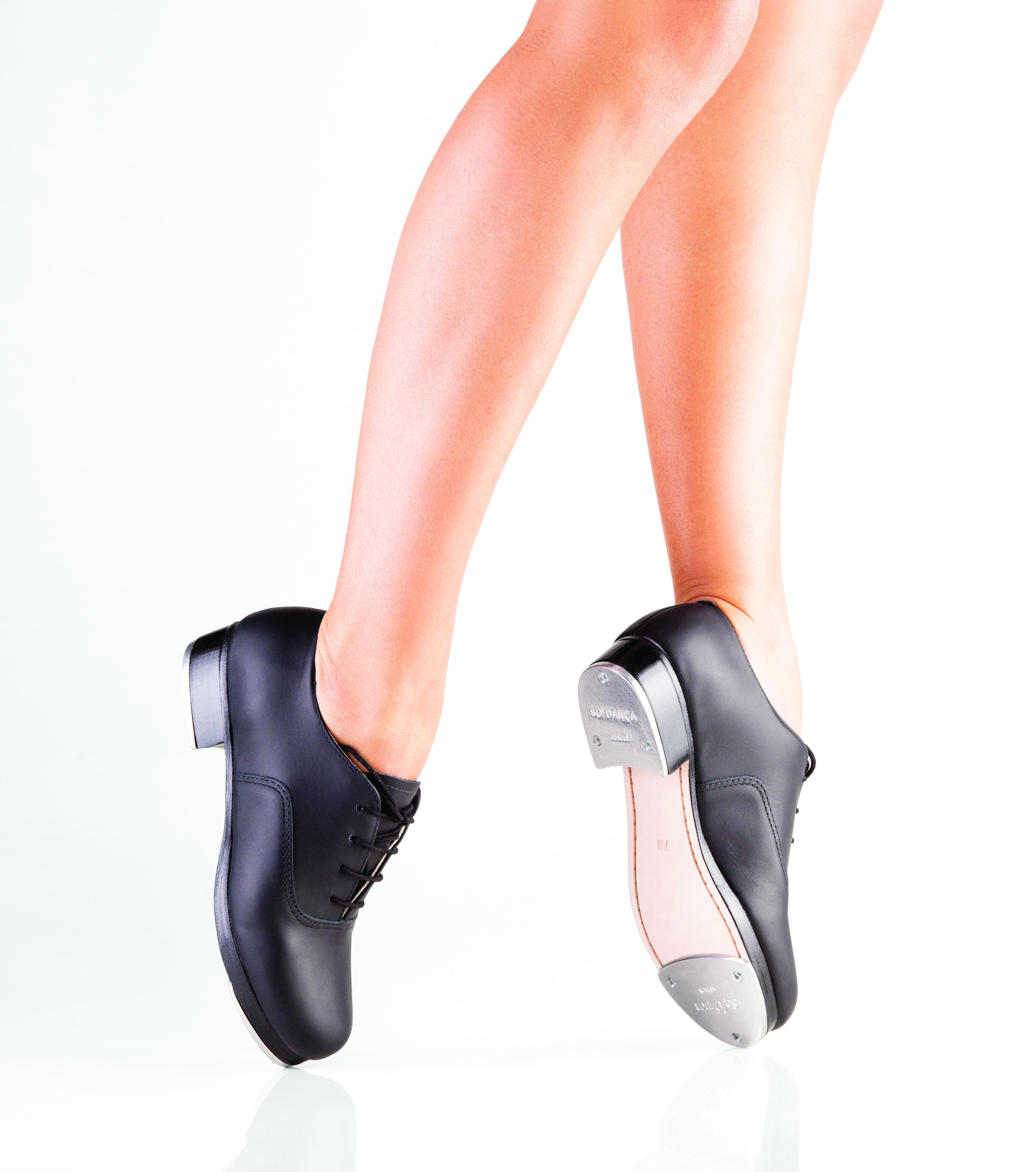 So Danca Tap Shoes TA37 Black